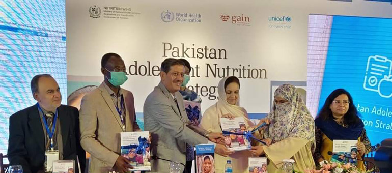 Ceremony to celebrate report launch in Pakistan