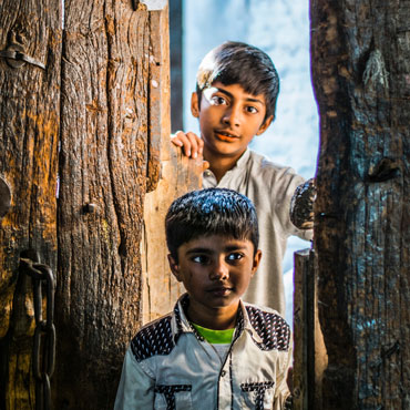 Two Pakistan kids