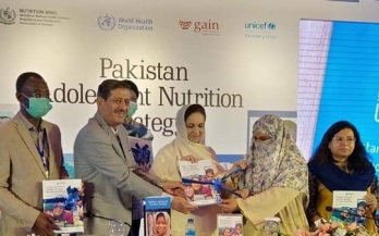 Pakistan: New Adolescent Nutrition Strategy boosts engagement with all stakeholders
