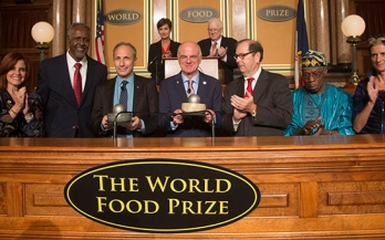 Nutrition champions win World Food Prize