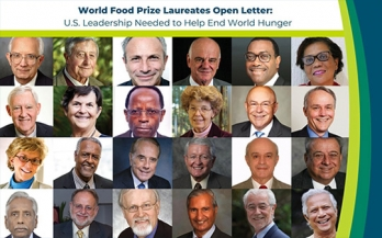 US leadership needed to end world hunger
