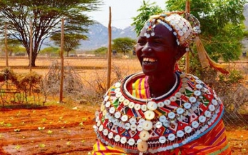 Nalois, a mother who advocates for improved nutrition in Kenya